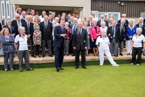 Official Opening - Chipping Norton Bowls Club